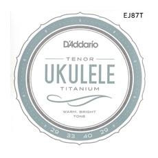 [다다리오] Daddario EJ87T Titanium Ukulele, Tenor