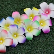 플루메리아 헤어핀 (하와이안 꽃핀)